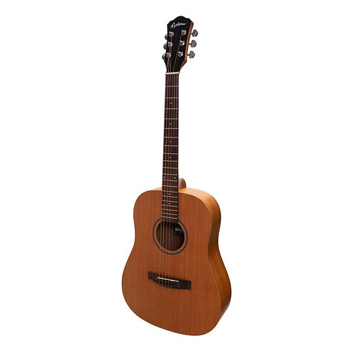 Martinez Middy Traveller Acoustic-Electric Guitar (Mahogany)