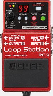 LOOP STATION BOSS RC-3