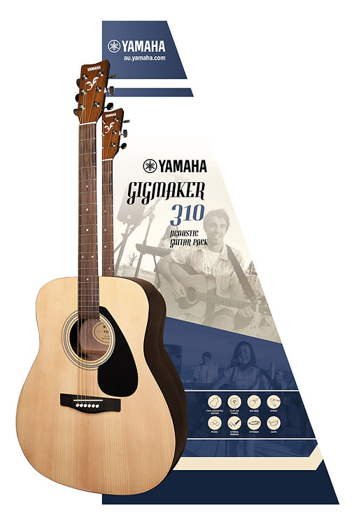 YAMAHA ACOUSTIC GUITAR GIGMAKER310 PACK