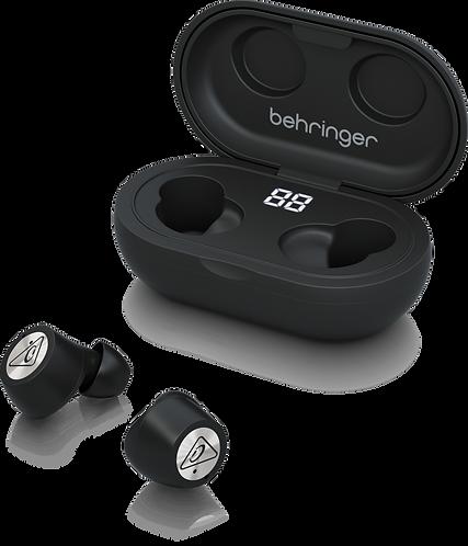 BEHRINGER AUDIOFILE WIRELESS EARPHONES with BLUETOOTH-TRUE BUDS