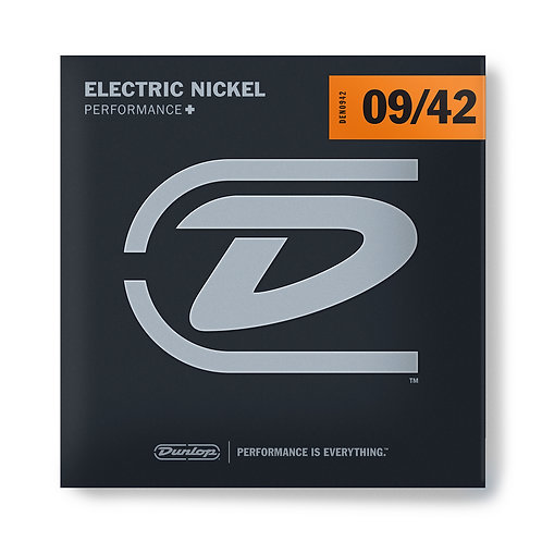 ELECTRIC GUITAR STRINGS DUNLOP 09-42
