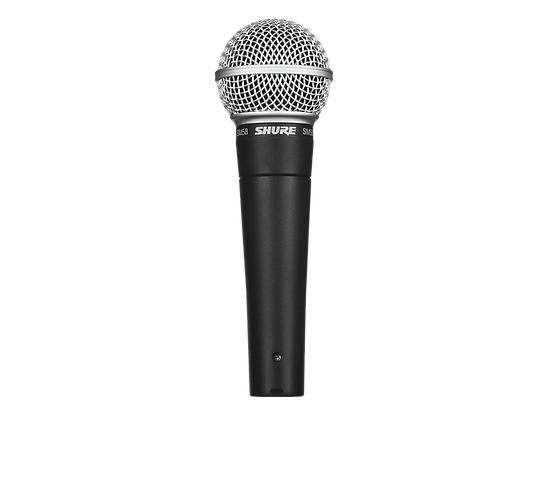 SHURE SM58 VOCAL CARDOID DYNAMIC MICROPHONE