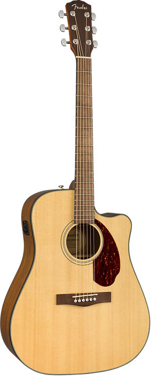 FENDER ACOUSTIC ELECTRIC CD140SCENA with HARD CASE