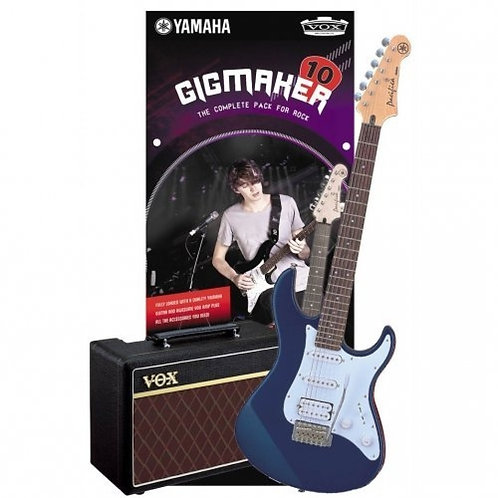 YAMAHA GIGMAKER10 ELECTRIC GUITAR PACK - DARK BLUE METALLIC