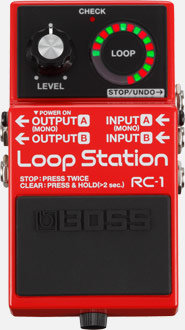 LOOP STATION BOSS RC-1