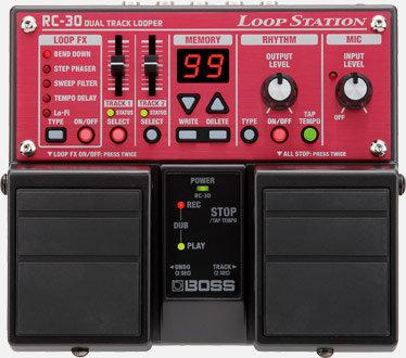 LOOP STATION BOSS RC-30