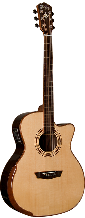 WASHBURN COMFORT GRAND CONCERT ACOUSTIC ELECTRIC WCG20SCE