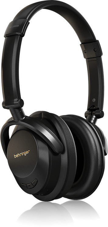 BEHRINGER STUDIO QUALITY WIRELESS HEADPHONES with BLUE TOOTH HC2000B