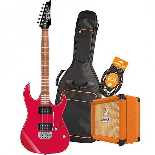 Ibanez RX22EXRD XMAS 2020 Electric Guitar Pack - Red