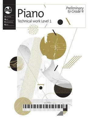 AMEB PIANO TECHNICAL WORKBOOK LEVEL 1- PRELIM TO GRADE 4