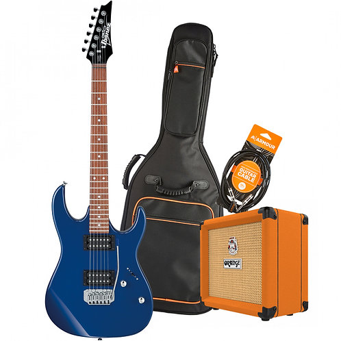 Ibanez RX22EXBL XMAS 2020 Electric Guitar Pack -Blue