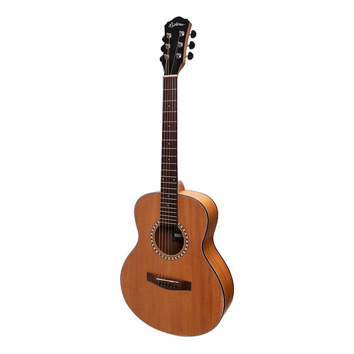 Martinez Short Scale Acoustic Guitar Mahoganny