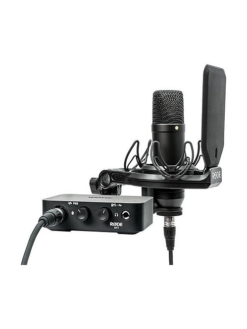 RODE MICROPHONE COMPLETE STUDIO KIT NT1 &AI1