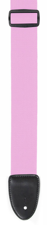 "GUITAR STRAP 2""POLY WEB MATERIAL PINK"