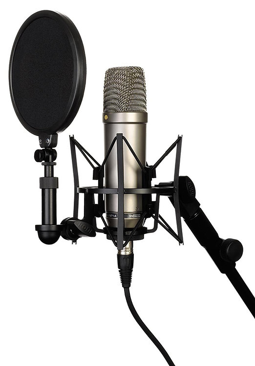 RODE MICROPHONE NT1A COMPLETE RECORDING KIT