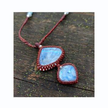 Rainbow Moonstone, Amazonite, Aquamarine