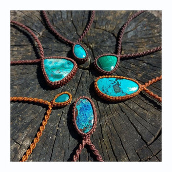 Chrysocolla, Malachite, Azurite, Turquoise