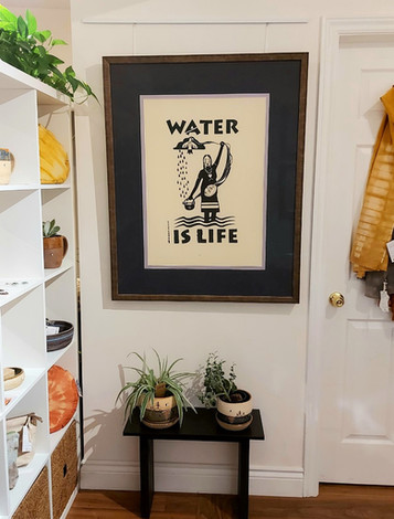 'Water is Life' Christi Belcourt