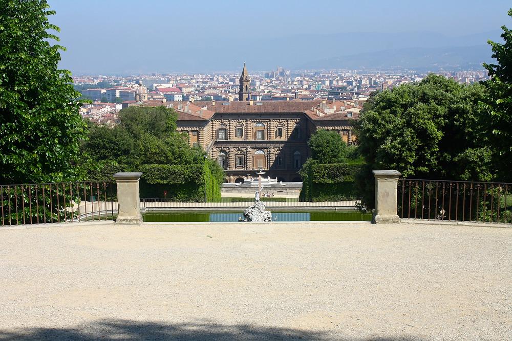 Boboli Gardens at Palazzo Pitti