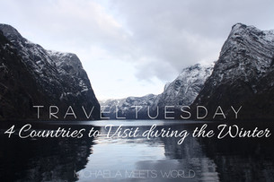 Travel Tuesday: 4 Countries to Visit During the Winter