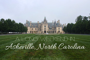 A long weekend in Asheville, North Carolina
