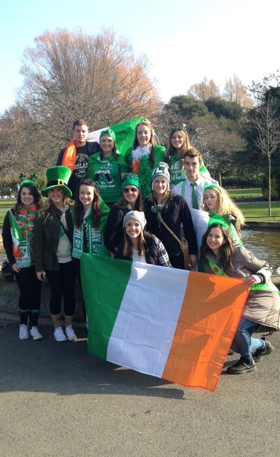 St. Patrick's Day attire