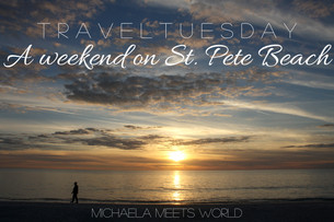 Travel Tuesday: A Weekend on St. Pete Beach