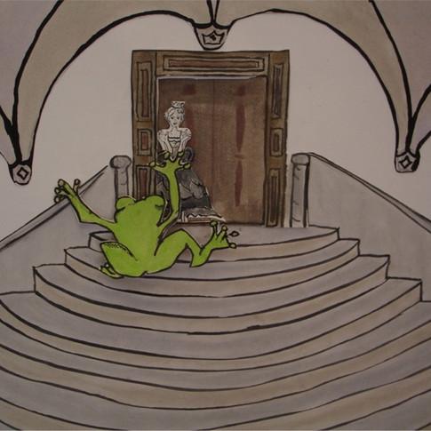 Froschkönig-Vor der Tür.jpg