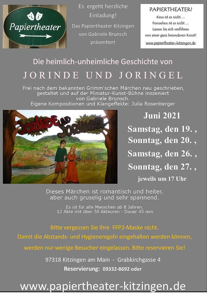 Publikation3Juni 2021 Jorinde und  Jorin