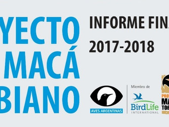 Proyecto Macá Tobiano Informe Final 2017-2018