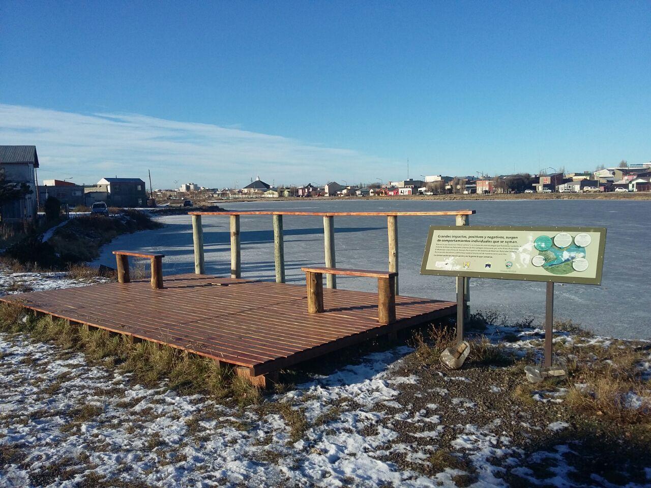 RNU Laguna Maria La Gorda, congelada