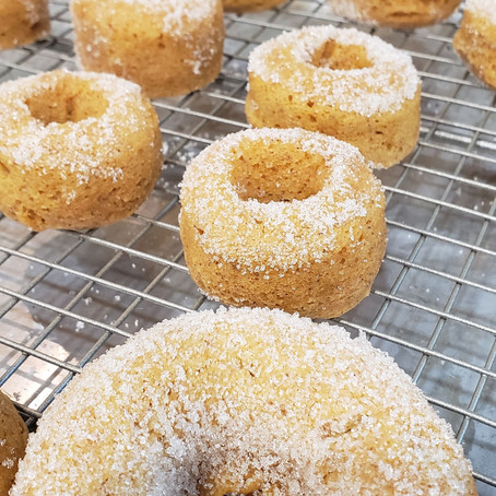GF Pumpkin Donuts