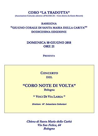 Coro la Tradotta - il Giardino Vocale