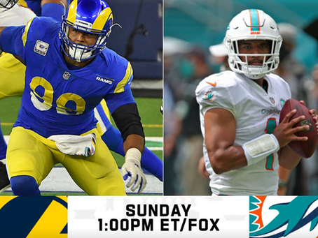 Rams at Dolphins: Win/loss predictions for Week 8