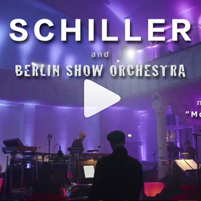 "Berlin Show Orchestra on Germany´s #1 album - SCHILLER ""Morgenstund""- Blue-ray/orchestral recording"