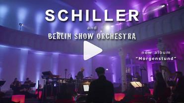 """SCHILLER - new album """"Morgenstund"""" - with Berlin Show Orchestra - orchestration by Felix Neumann"""
