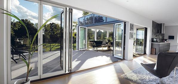 Lacuna Modern Folding Doors