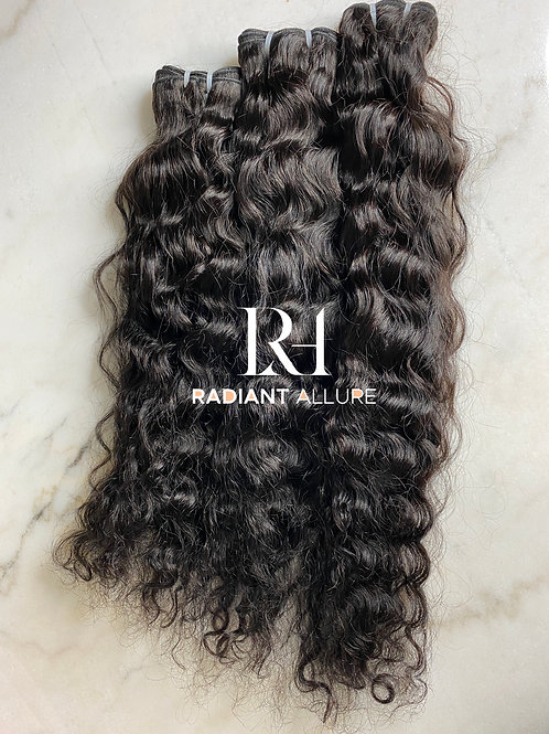 Raw Natural Curly Extensions