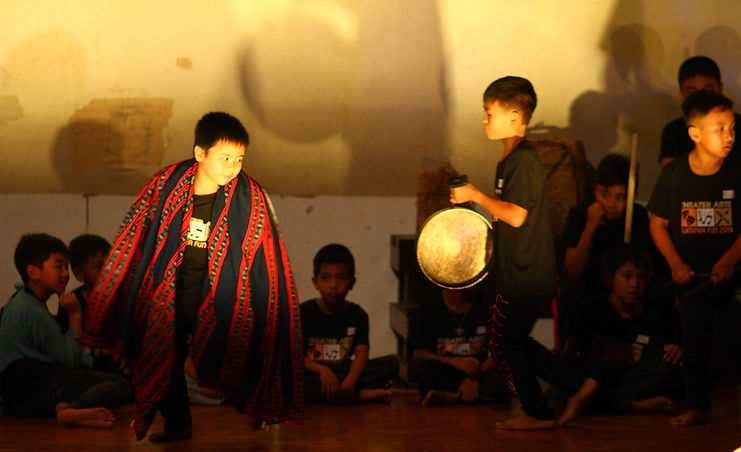 Mankayan kids learn Benguet dances pics