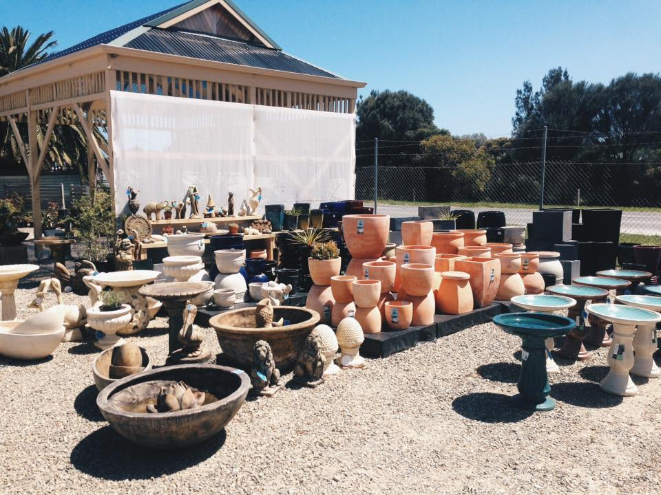 Pots and Statues