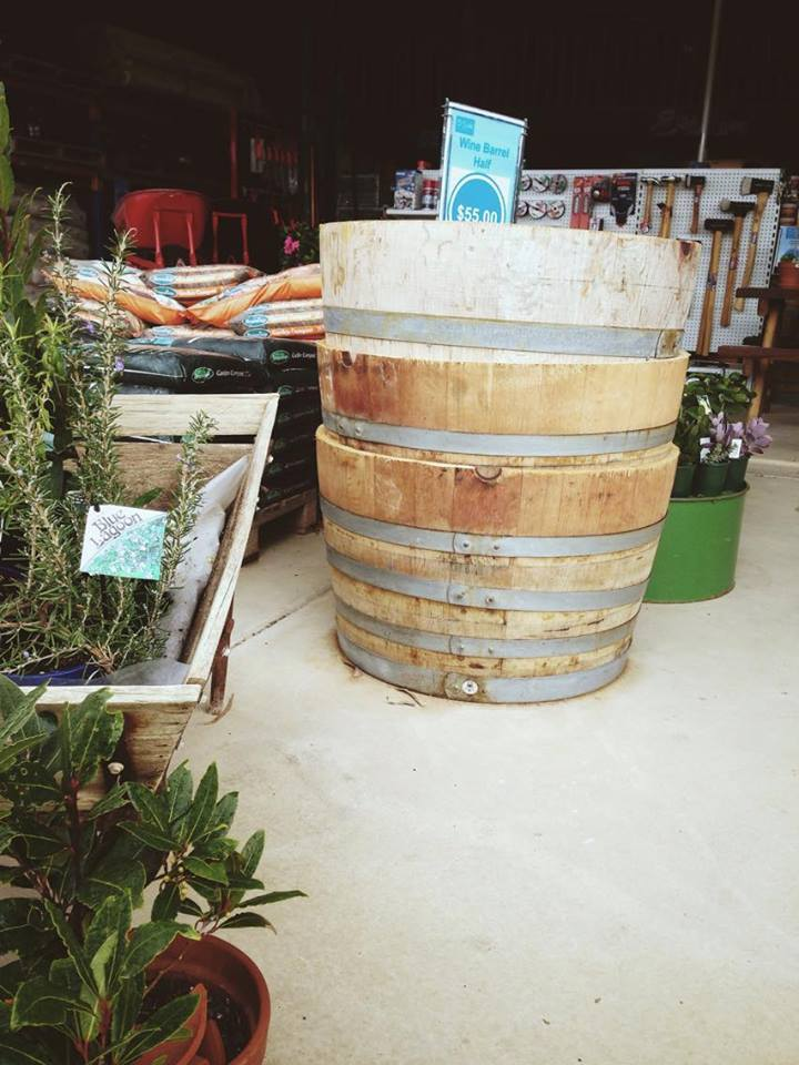 Wine Barrel Halves