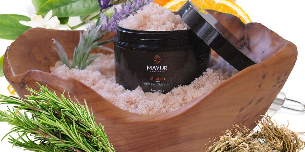 DIY Day: Salt Scrub with Mayur Naturals