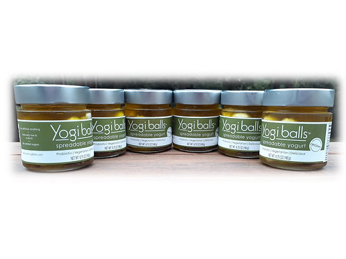 YogiBalls Original Flavor 6 Pack