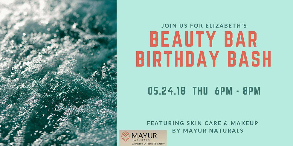 Beauty Bar Birthday Bash