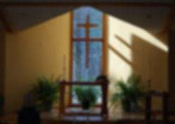 Alter in church building