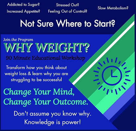 Why weight educational workshop for fitness and health