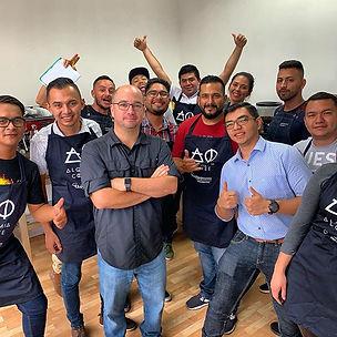1ros baristas de El Salvador 🇸🇻 con ce