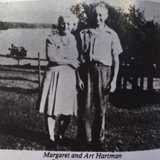 Margaret and Art Hartman 1940