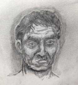 graphite face