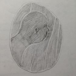 pencil face 1